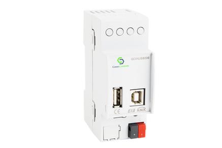 USB Interface dạng DIN rail để giao tiếp giữa PC và KNX